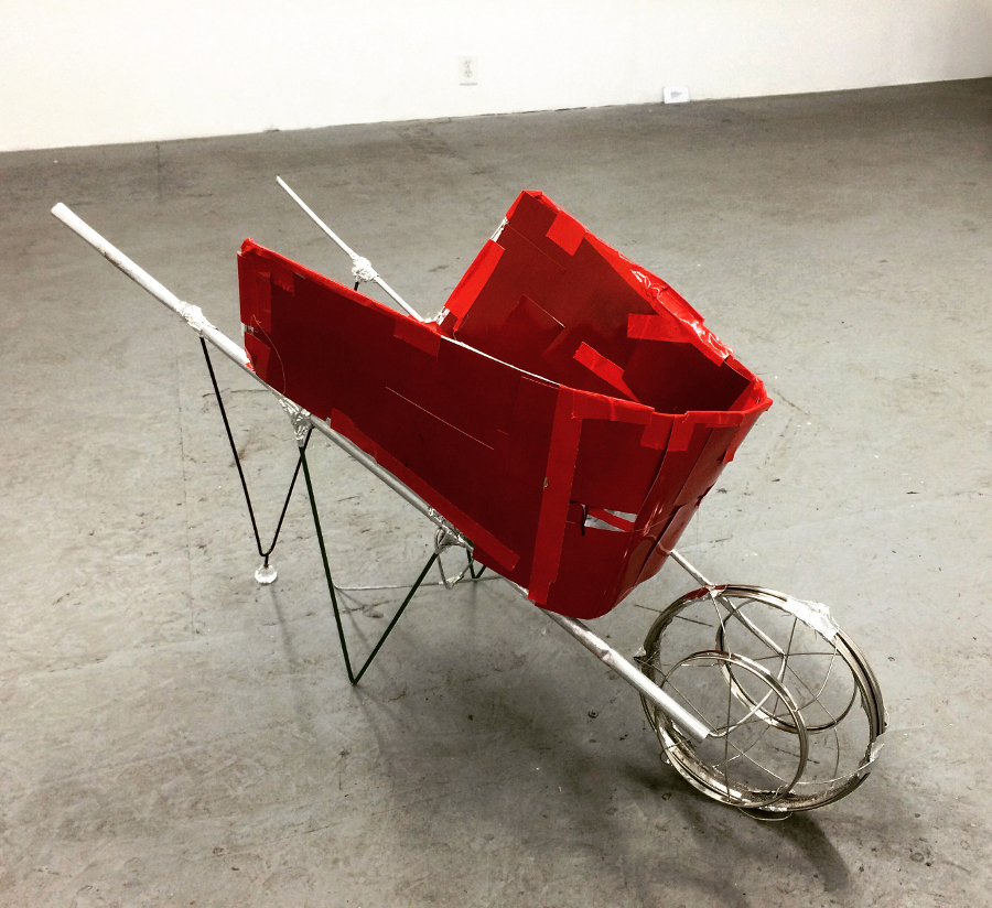 "Kio Griffith, ""Red Wheelbarrow"""