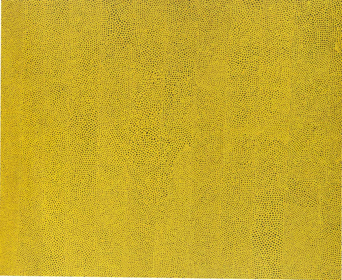 Yayoi Kusama, Infinity Nets Yellow, 1960 | National Gallery of Art, Washington. Gift of the Collectors Committee (2002.37.1). © Yayoi Kusama