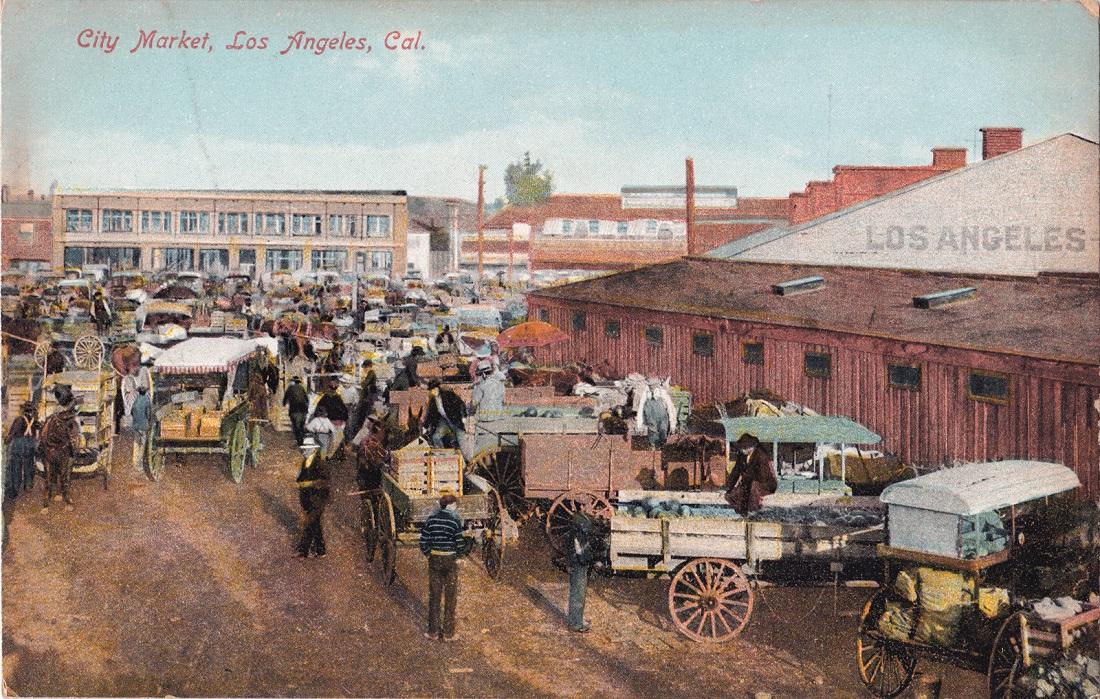 Los Angeles city market