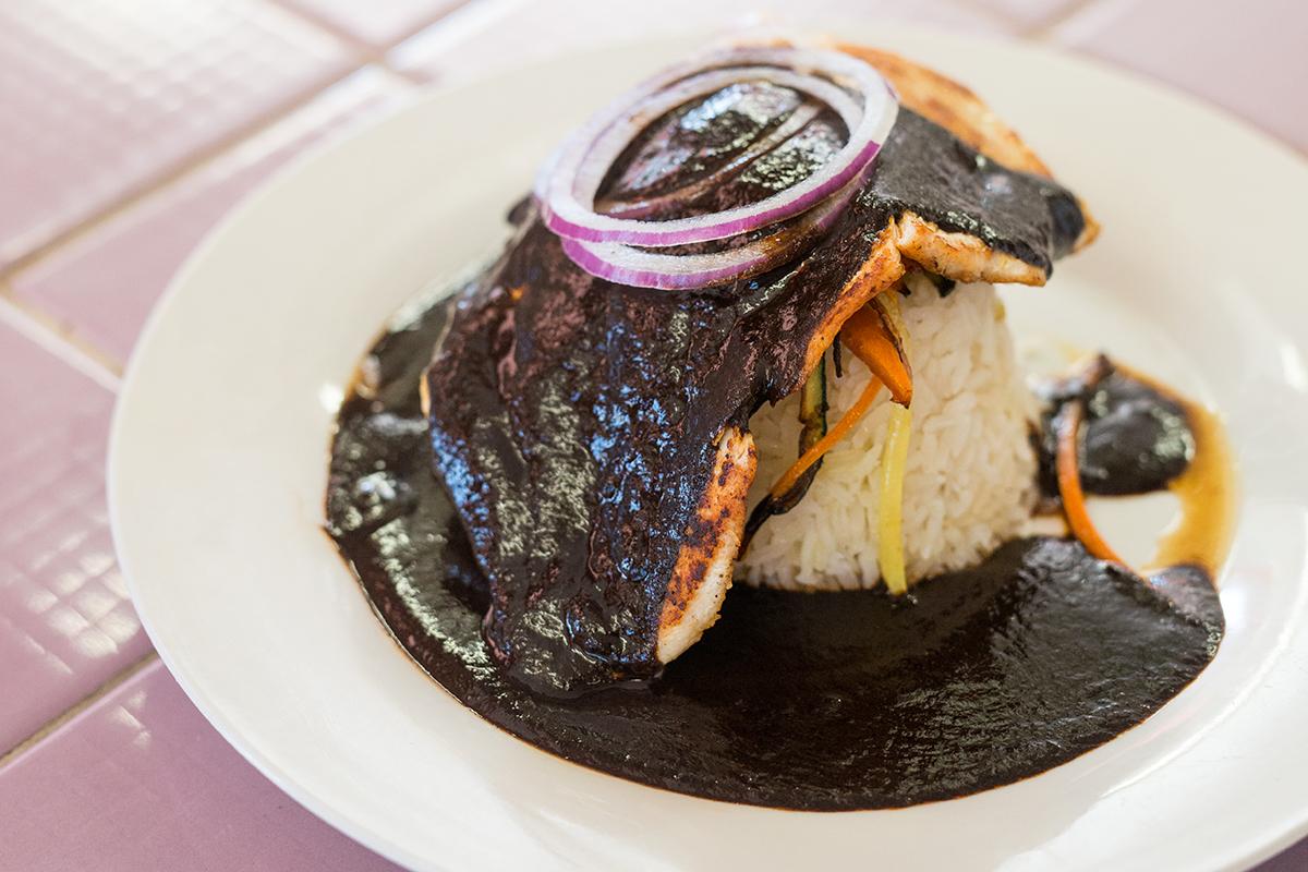 Rocío's Mexican Kitchen's Mole Negro Oaxaqueno. | Staci Valentine