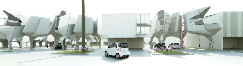 Dingbat apartment re-imagining