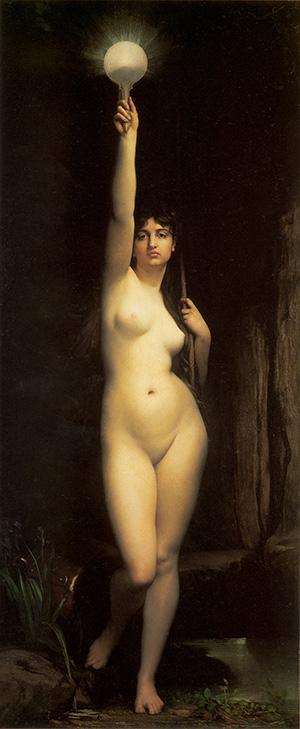 Truth (La Vérité), 1870 | Jules Lefebvre