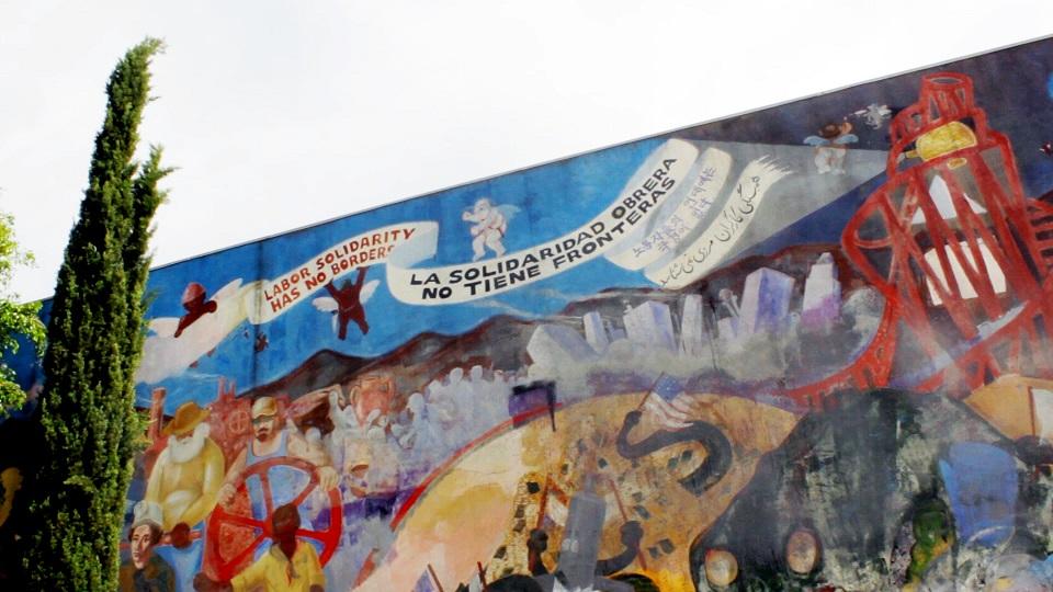 Labor Solidarity Mural