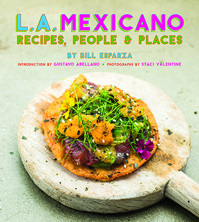 L.A. Mexicano's book cover. | Staci Valentine