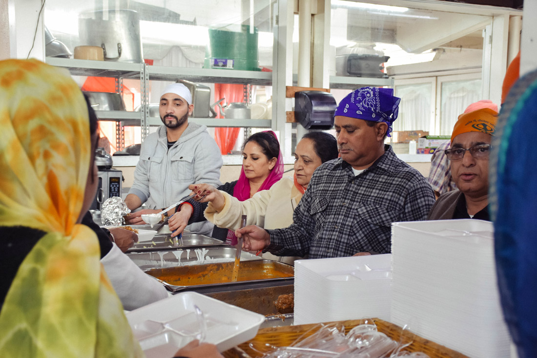Part of that education means serving langar to complete strangers in the greater Los Angeles area.