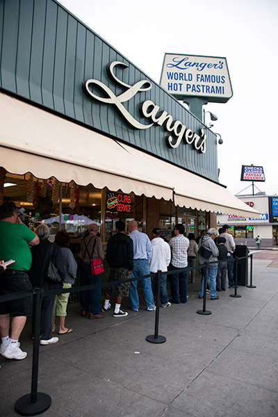 Langer's Deli on its 65th anniversary | Courtesy of Langer's MKs3