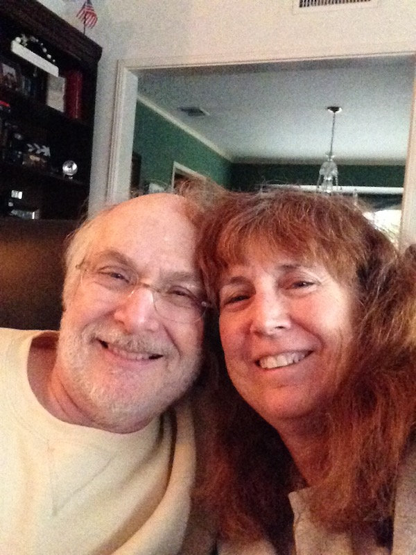 Larry and his wife, Lynne Lerner | Courtesy Lynne Lerner