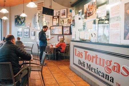 Las Tortugas interior by Houston Cofield