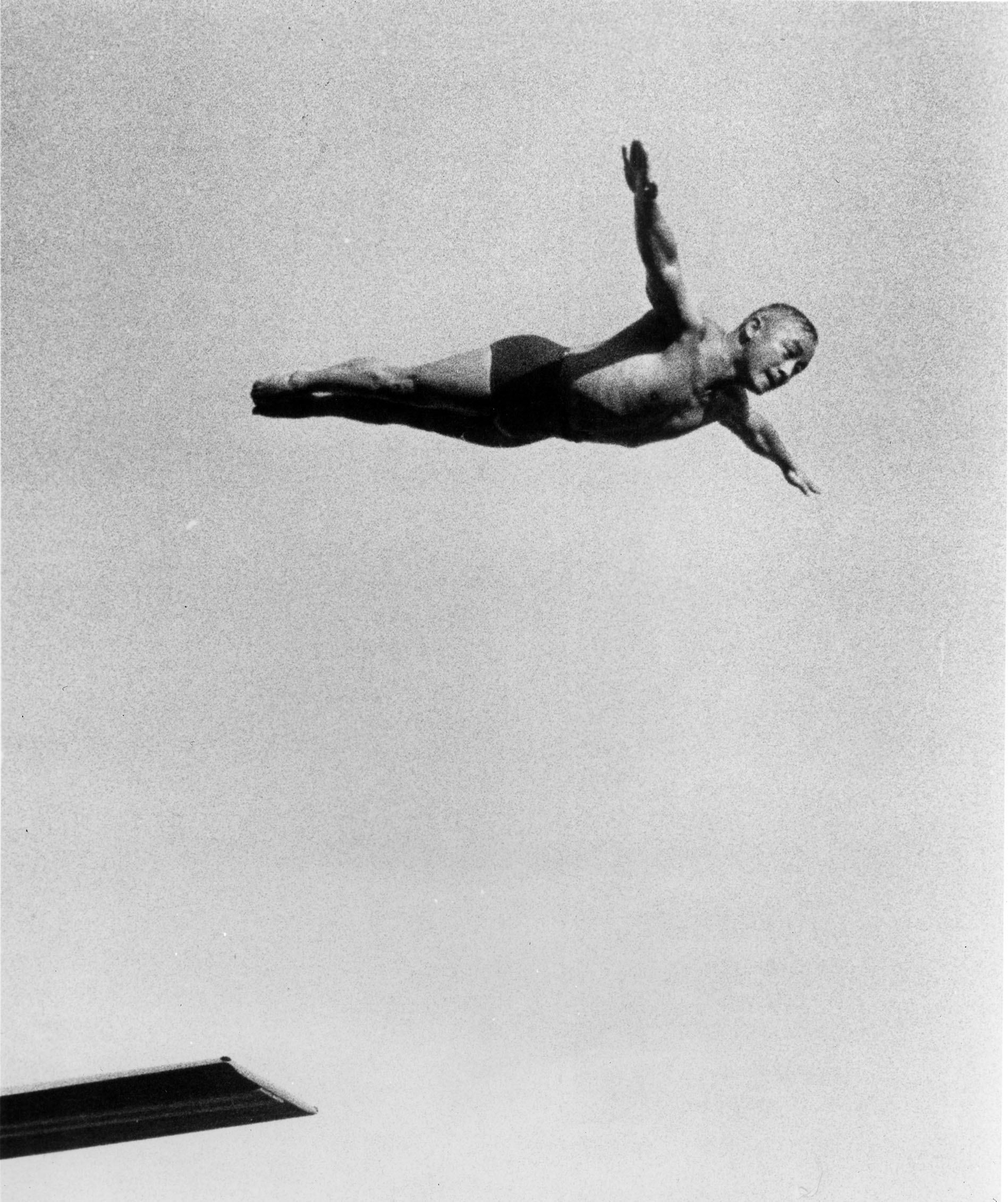 Sammy Lee diving