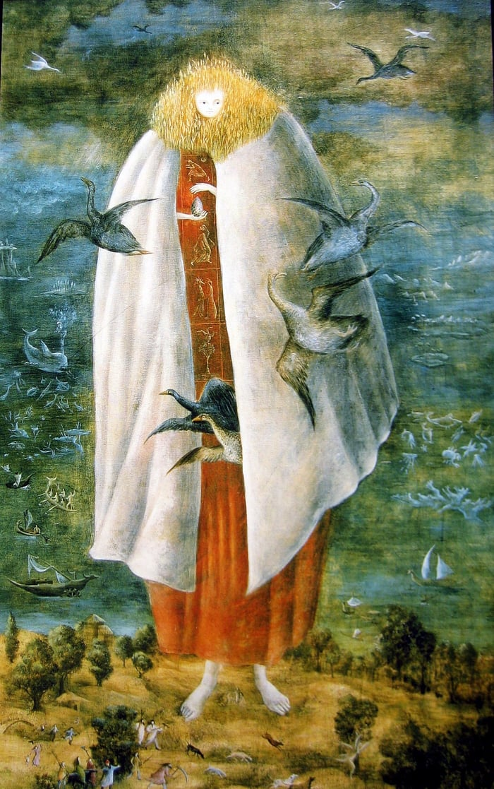Leonora Carrington's The Giantess, circa 1947 | Flickr/Blache69