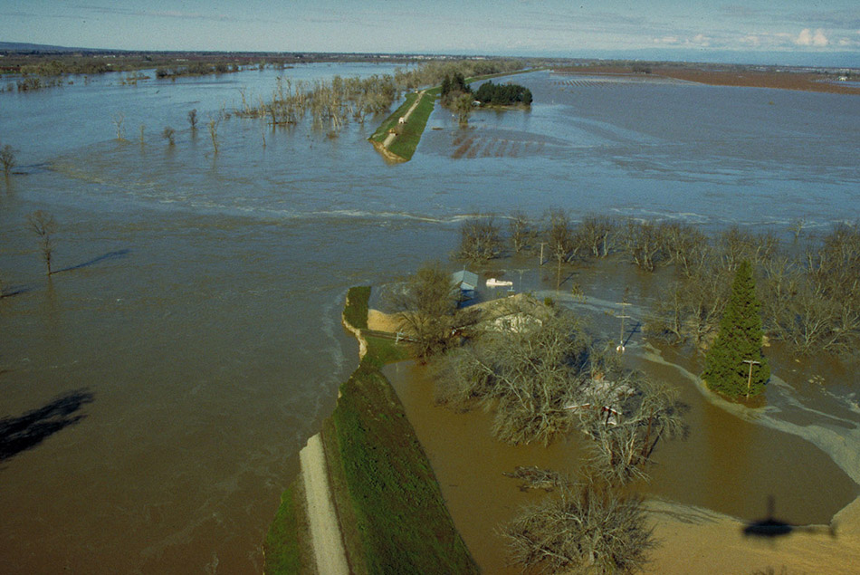 Flooding of Property near the Delta