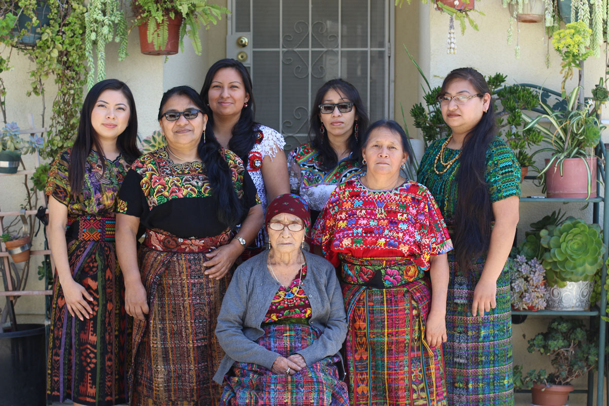 The Francisco Juarez family is originally from Santa Eulalia and Santa Cruz Barillas in Huehuetenango, Guatemala. Their Maya language is K'anjob'al.  | Emaly Escobar / Courtesy of Las Fotos Project