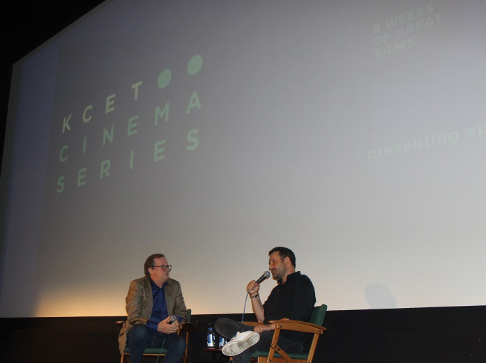 """Cinema Series host Pete Hammond and Writer/Director Dan Fogelman participate in a Q&A after a screening of """"Life Itself"""""""