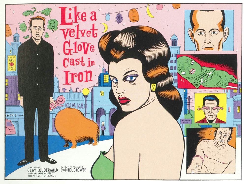 Like a Velvet Glove Cast in Iron - Daniel Clowes