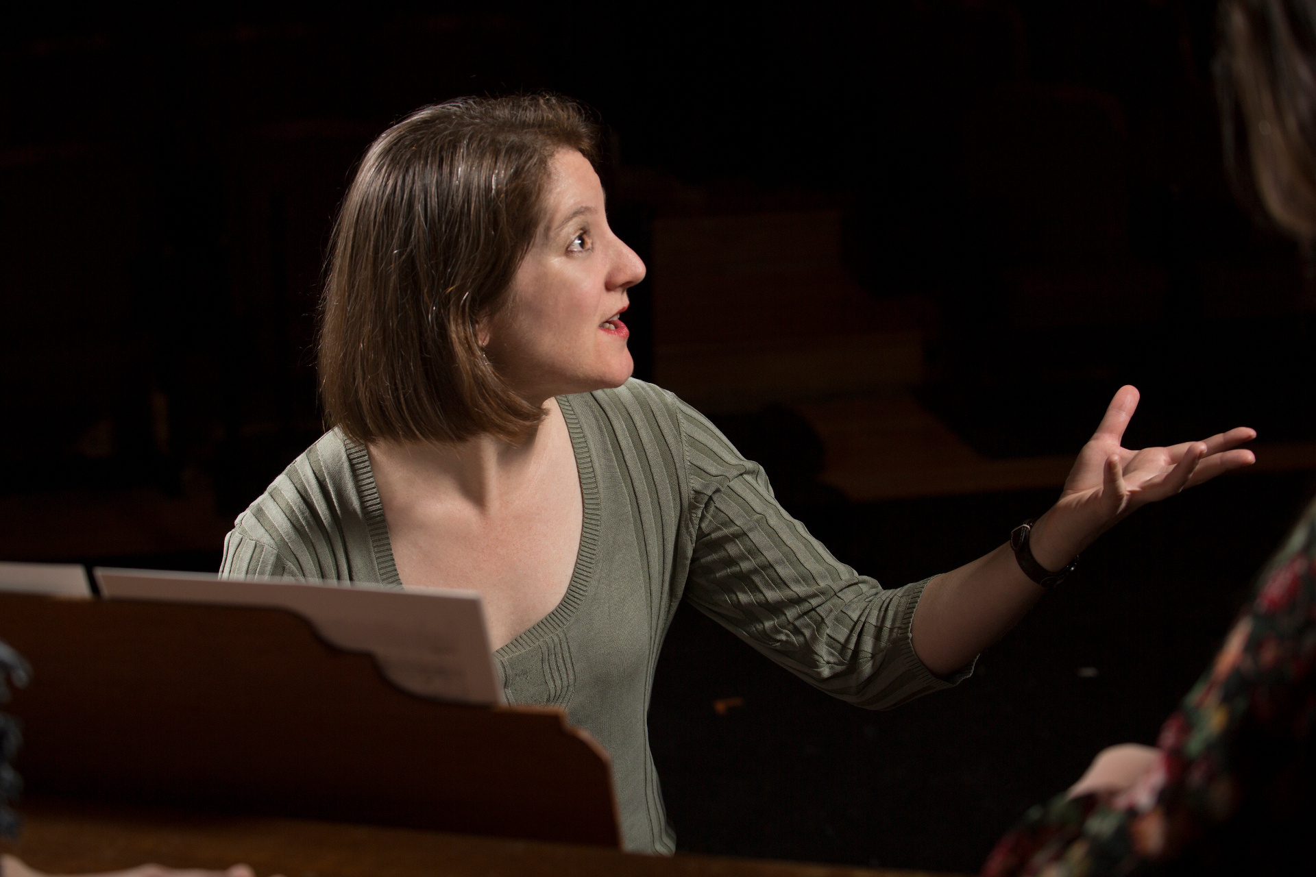 "Lisa Bielawa is the composer of ""Vireo."" 