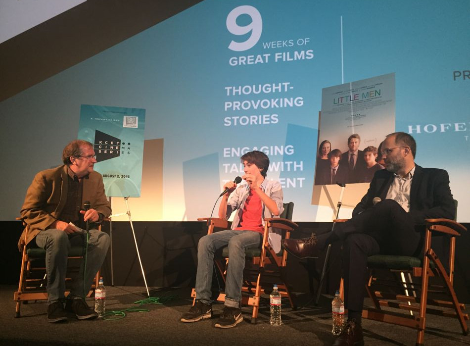 """Little Men"" screening at KCET Cinema Series"