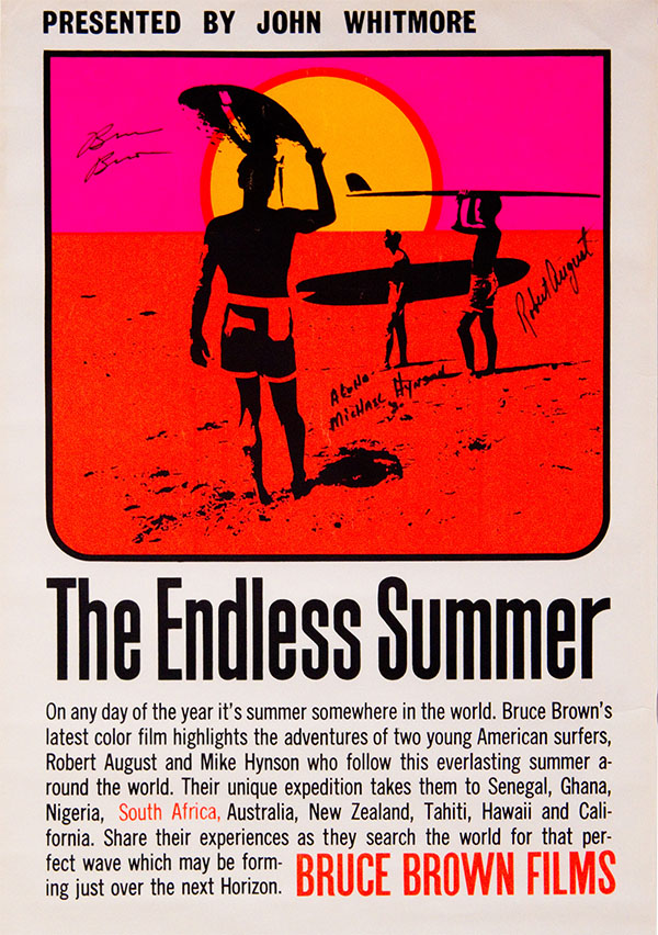 "Poster art for ""The Endless Summer"" 