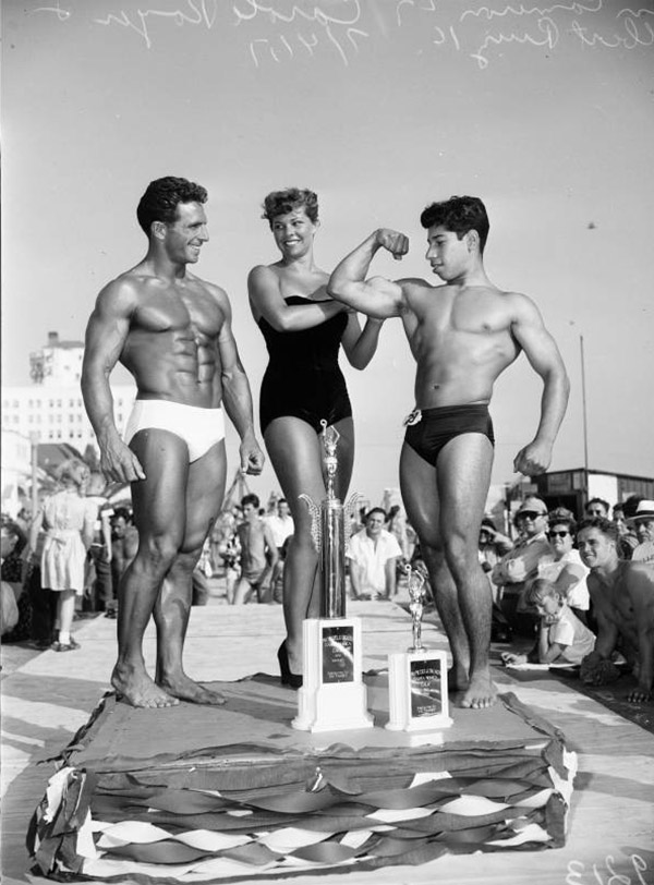 Mr. Muscle Beach, 1951 | Los Angeles Examiner Negatives Collection, 1950-1961/University of Southern California Libraries