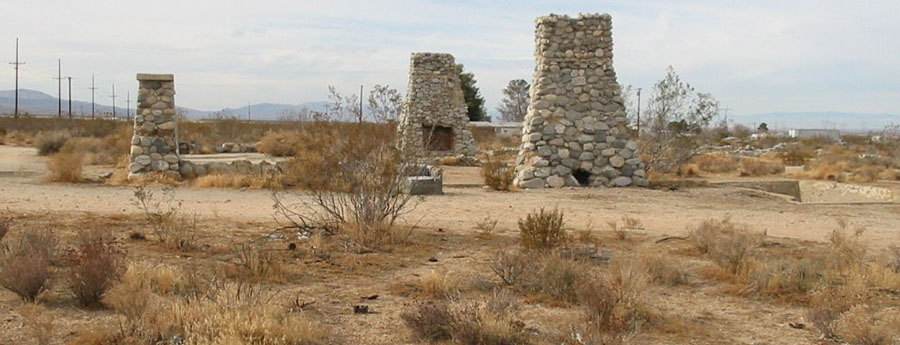 The ruins of Llano del Rio, California | Binksternet