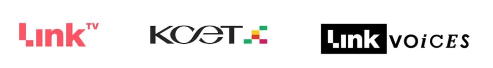 Link KCET Link Voices Logos