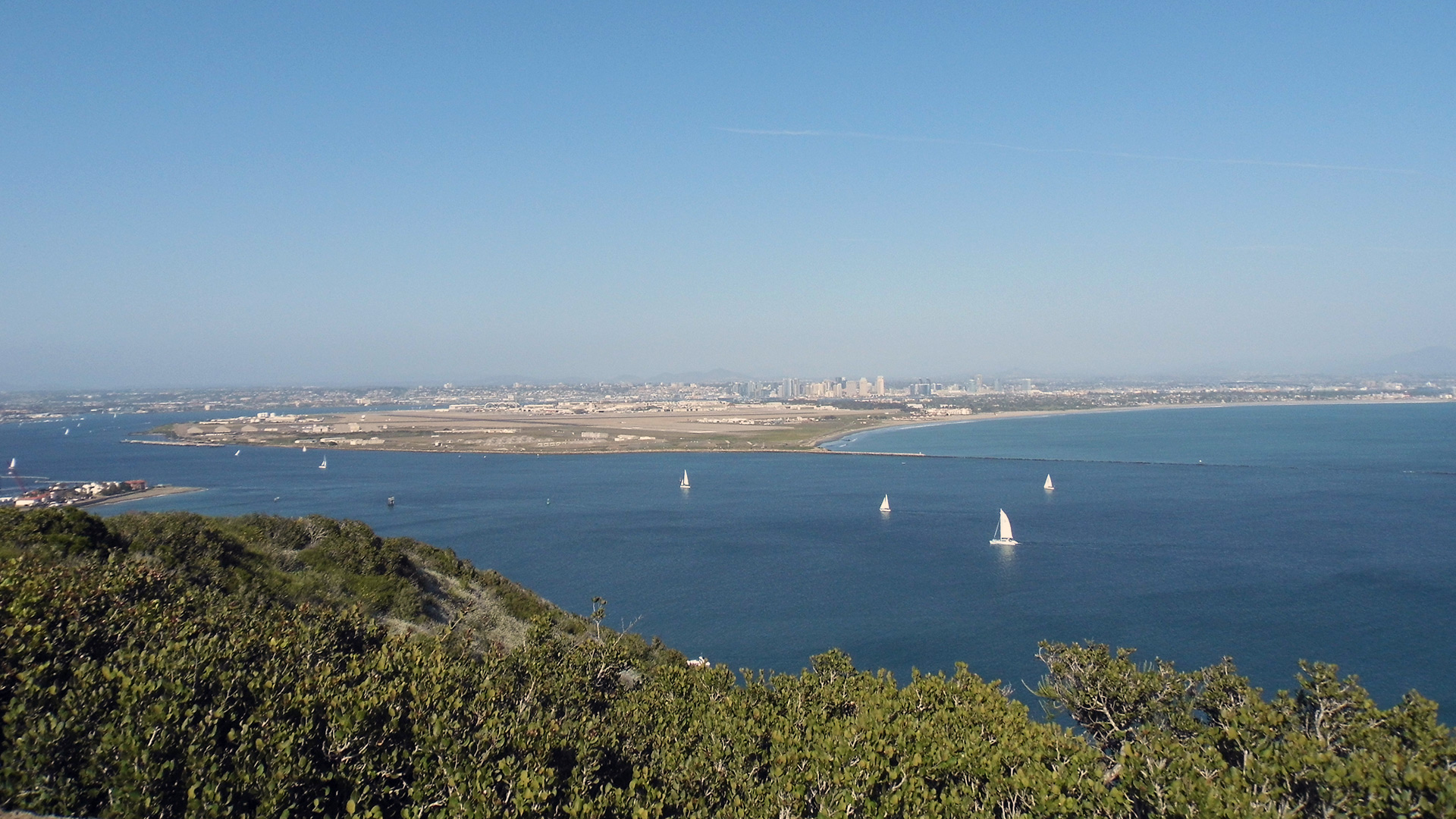View from Old Point Loma Lighthouse