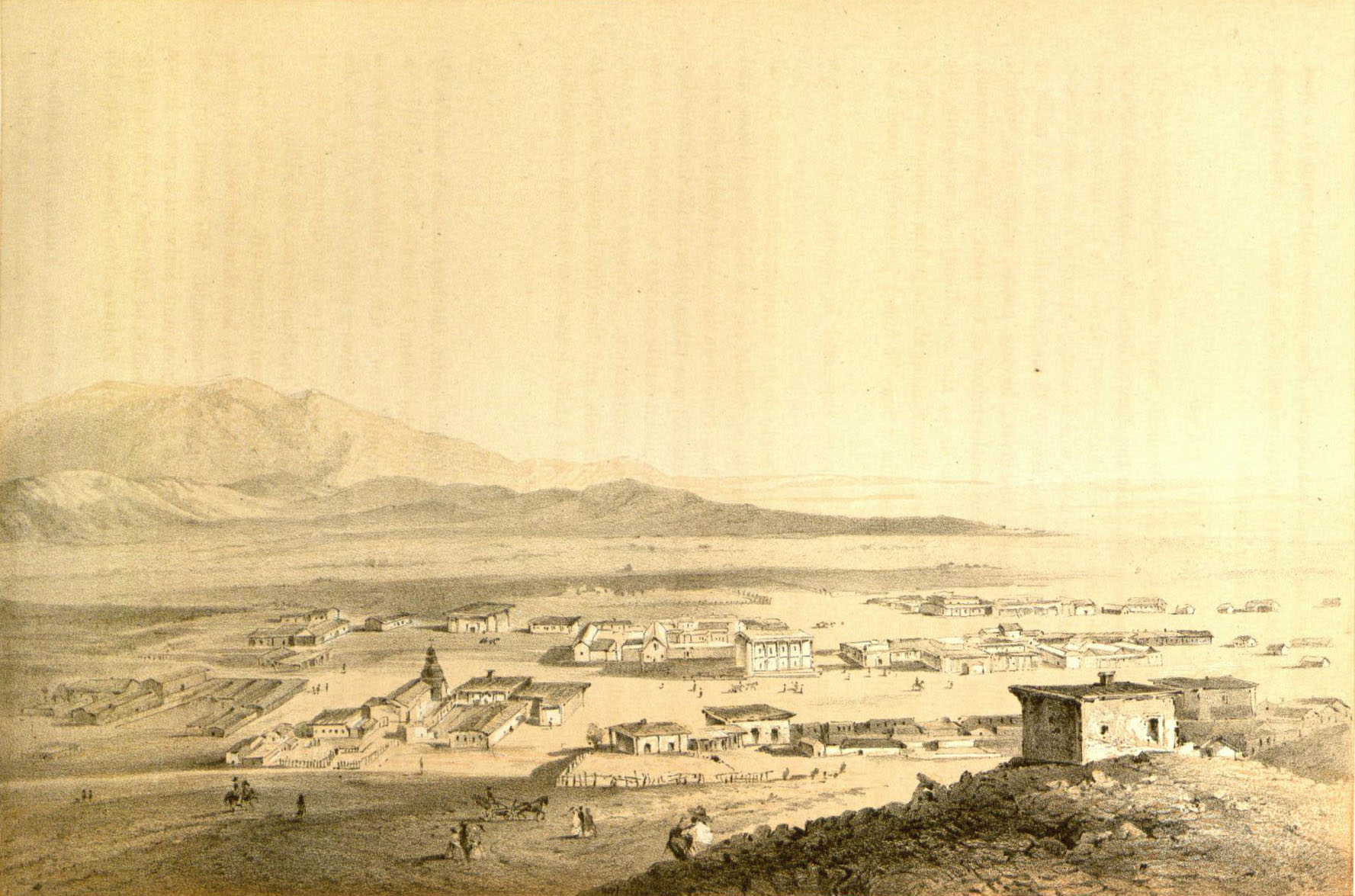 Los Angeles in 1853