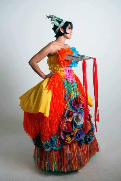 "Marissa Magdalena's ""Quince Quince"" dress | Edward Duarte."