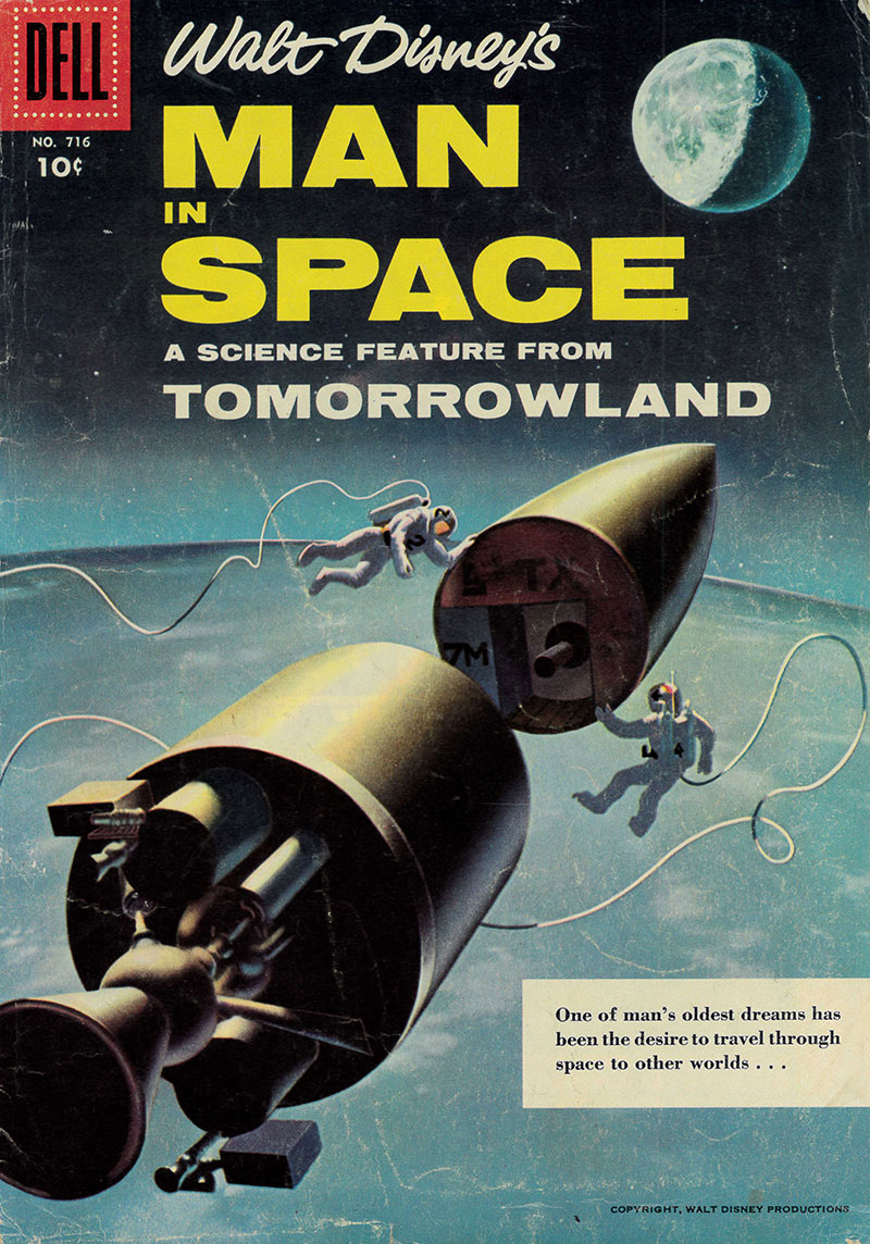 Man in Space, 1956 | Courtesy of Henry Cram