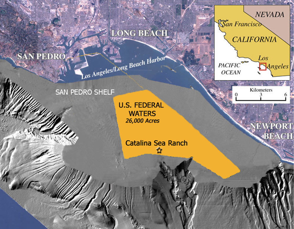 Map of Catalina Sea Ranch location