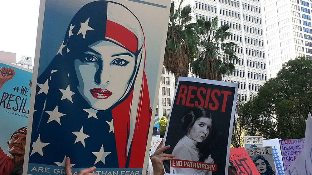 Women's March: Signs