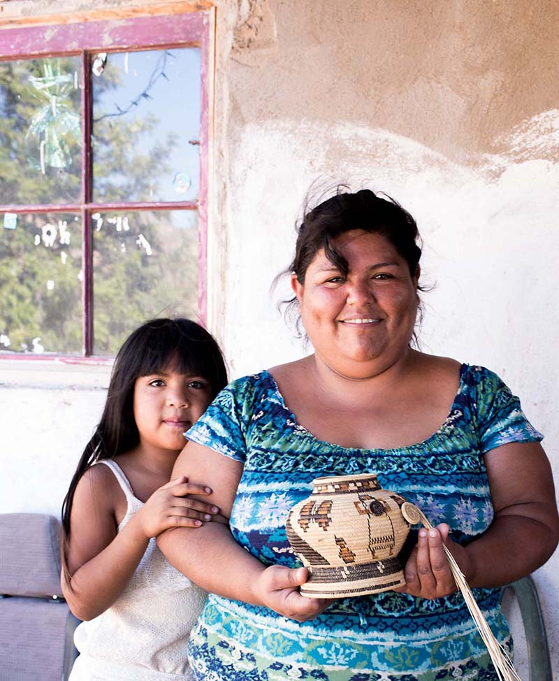 Marisol Carrillo and her daughter in San Jose de la Zorra | Rose Ramirez