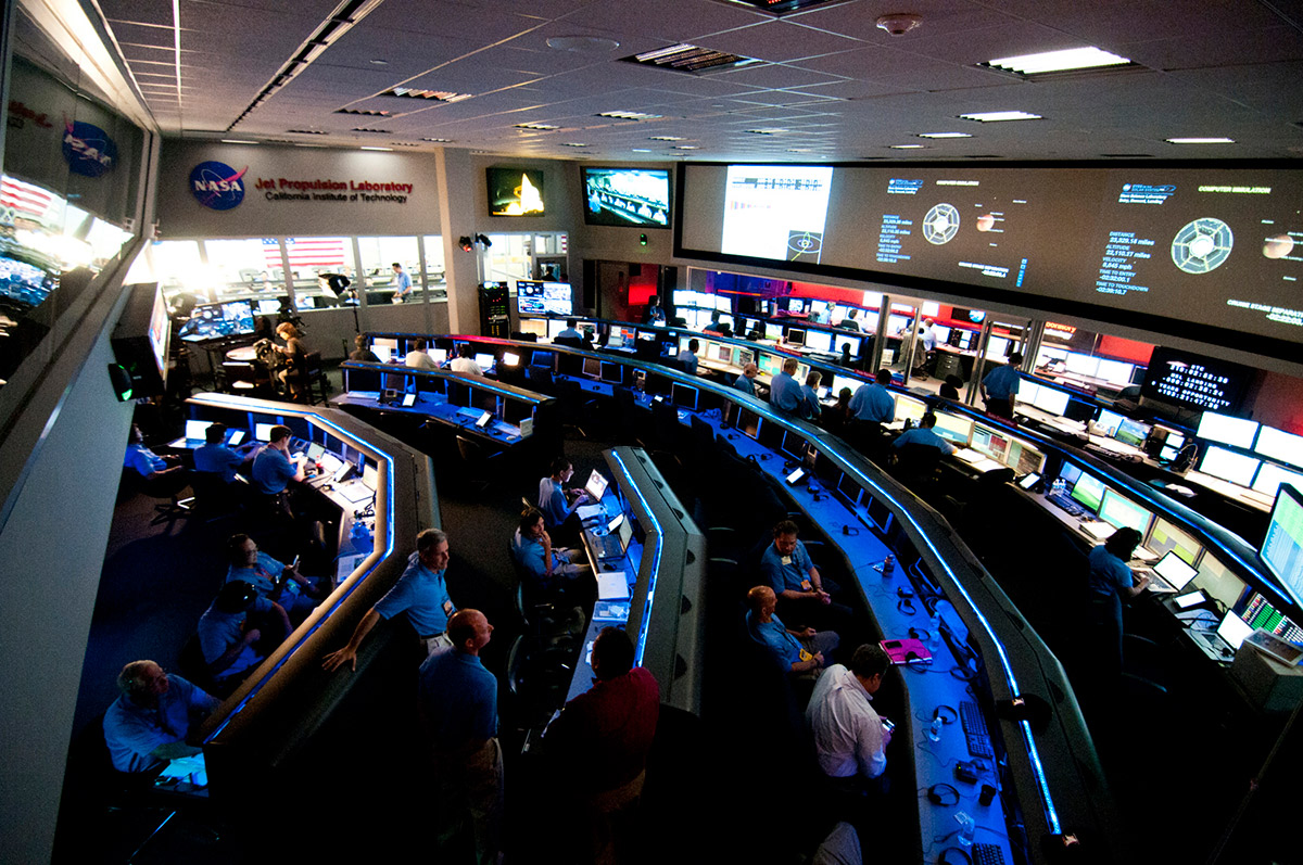The Space Flight Operations Facility, a National Historic Landmark. | NASA/JPL-Caltech