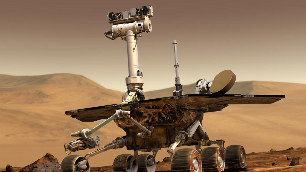 Artist depiction of Mars Exploration Rovers, Spirit and Opportunity | NASA