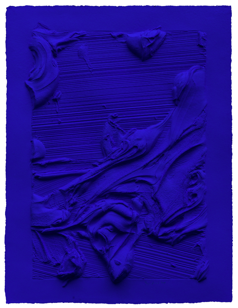 "Jason Martin, ""Untitled Ultra Blue,"" 2014"