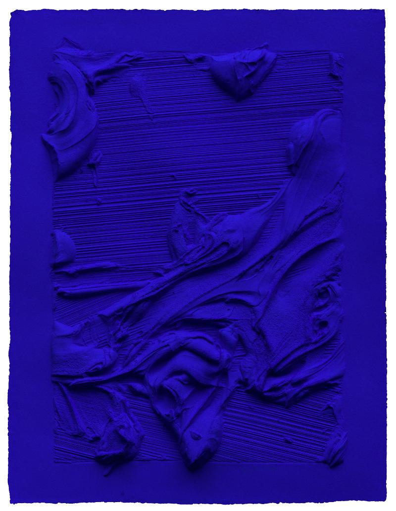 "Jason Martin, ""Untitled Ultra Blue,"" 2014"
