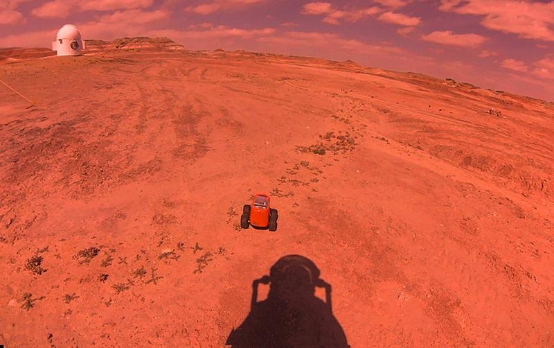 MDRS Has rover and astronaut. Kavya Manyapu