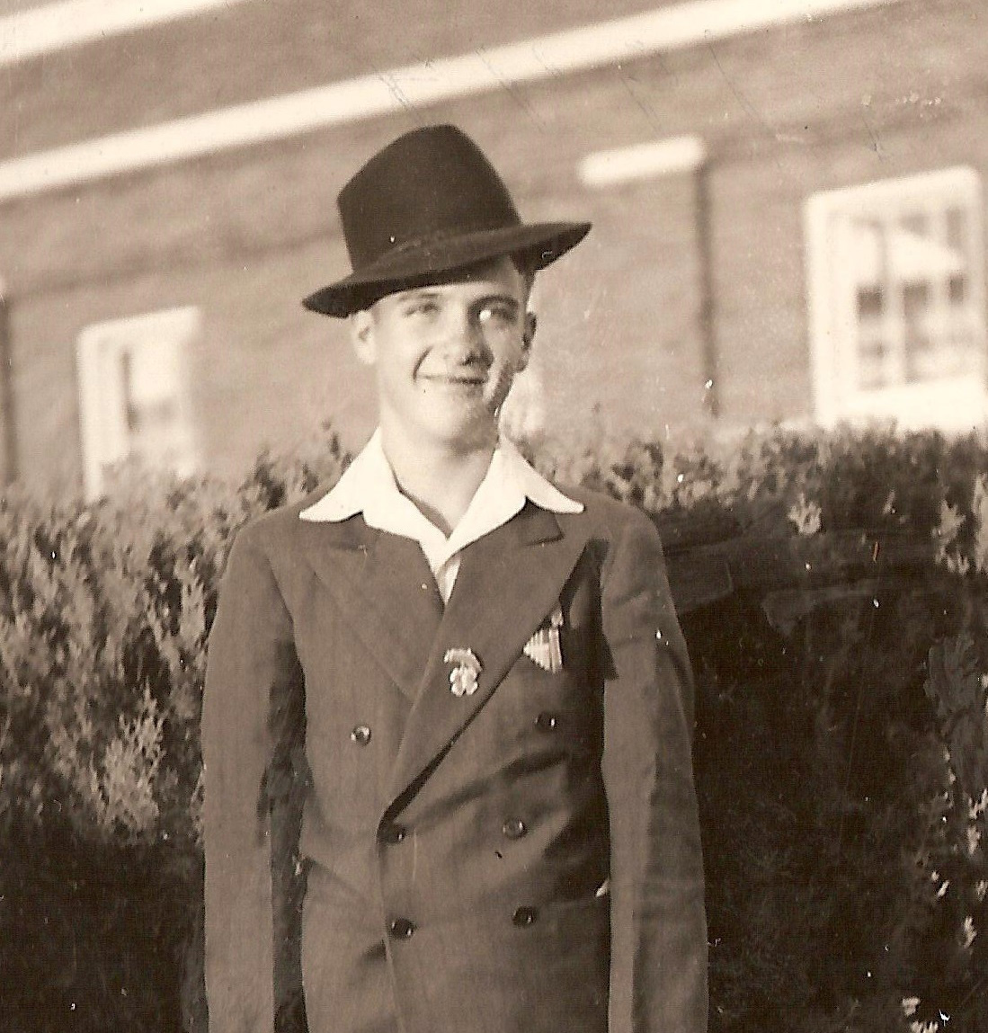 Mel Apt as a boy. | Courtesy of Sharman Apt Russell