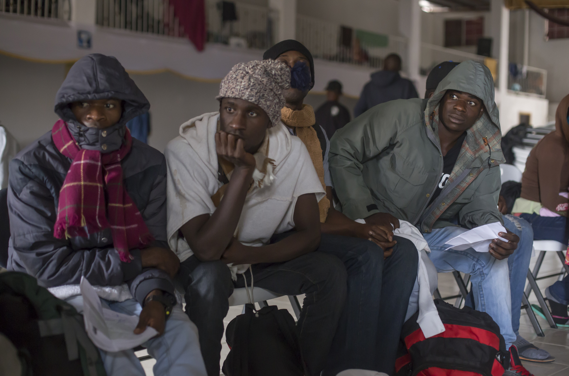 Mexican photojournalist Omar Martínez documents Haitians in Tijuana
