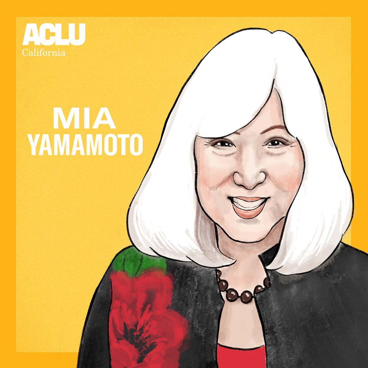 Portrait of Mia Yamamoto | Audrey Chan, ACLU SoCal
