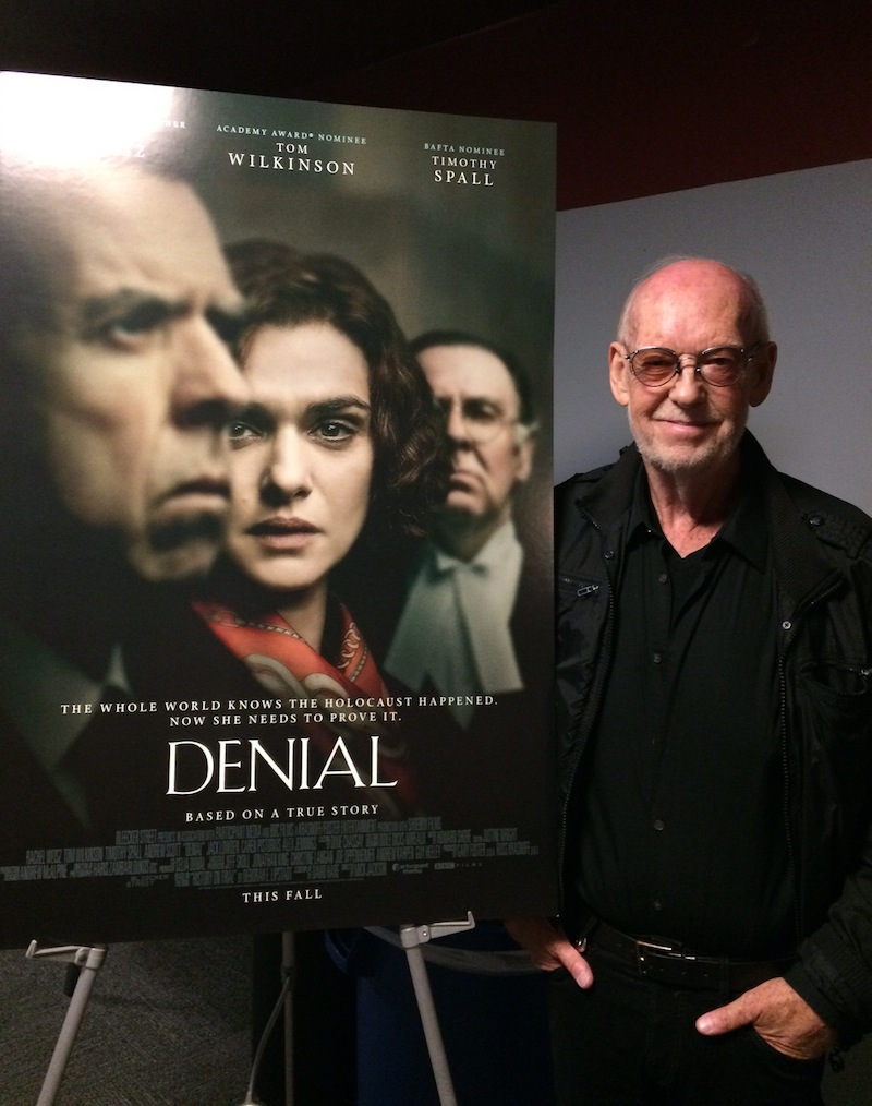"""Denial"" director Mick Jackson at the KCET Cinema Series"