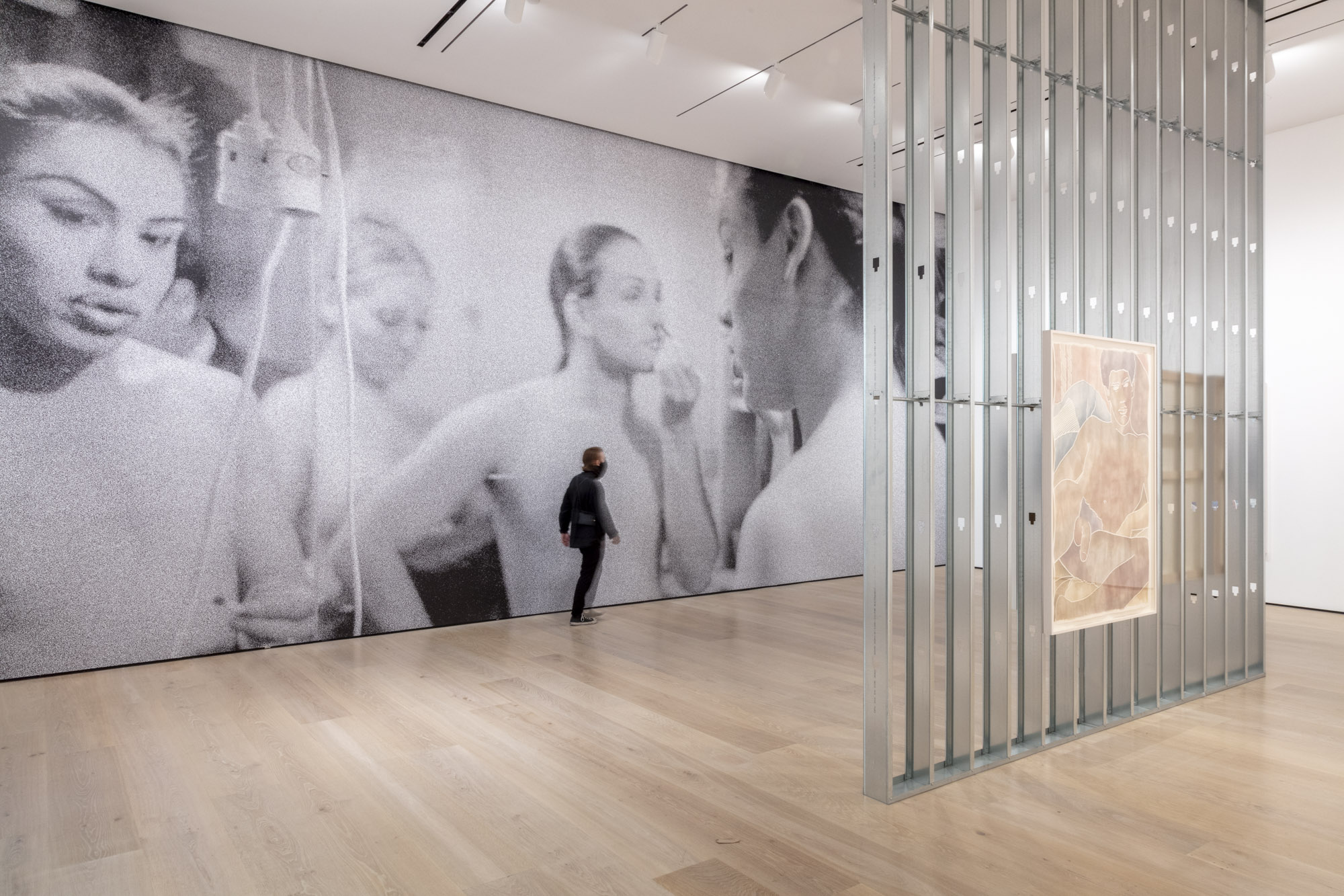 """An installation view of Monica Majoli's work at """"Made in L.A. 2020: a version."""" at Hammer Museum, Los Angeles. 