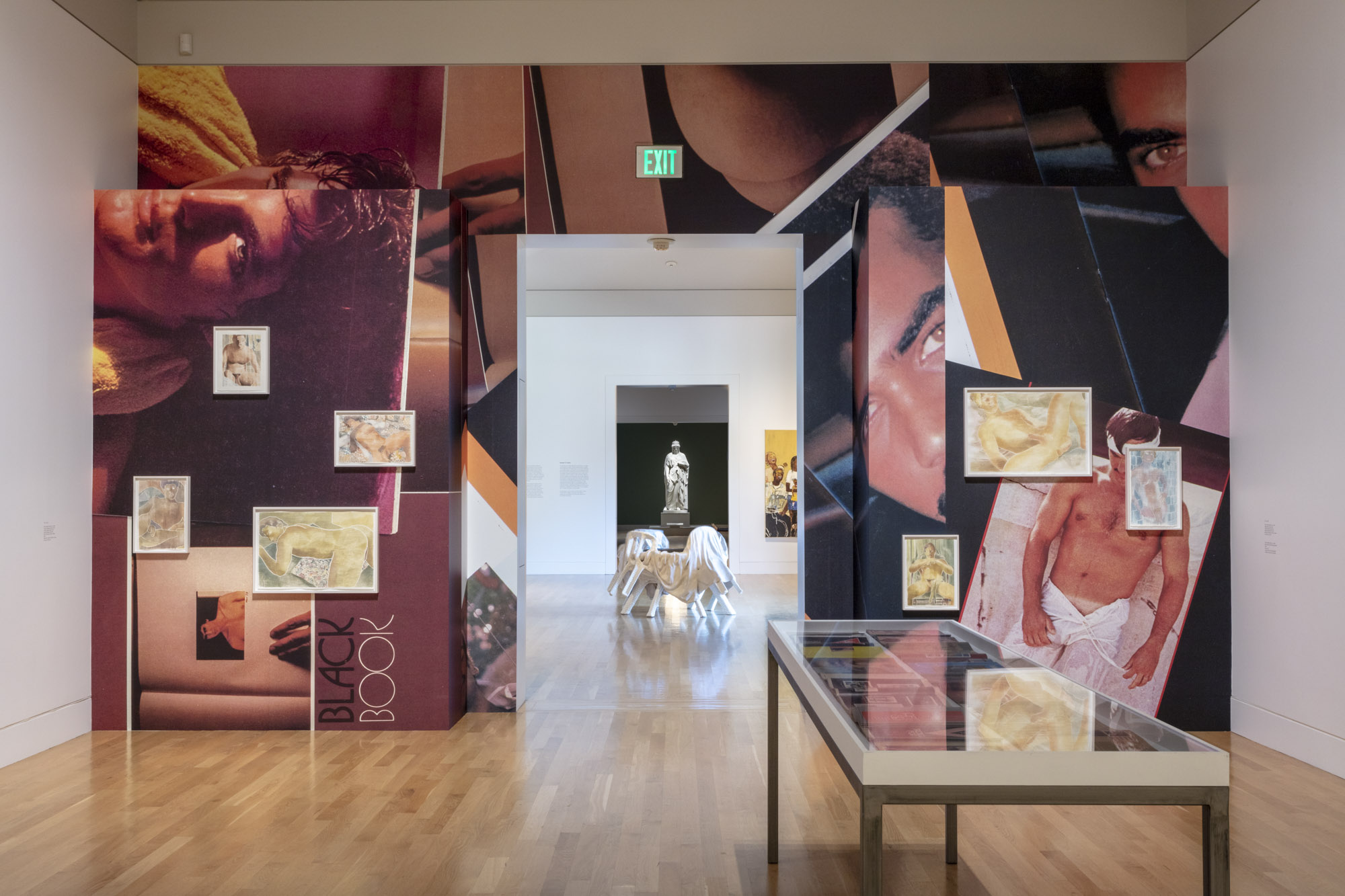 """An installation view of Monica Maioli's work at """"Made in L.A. 2020: a version"""" at The Huntington Library, Art Museum, and Botanical Gardens, San Marino. 