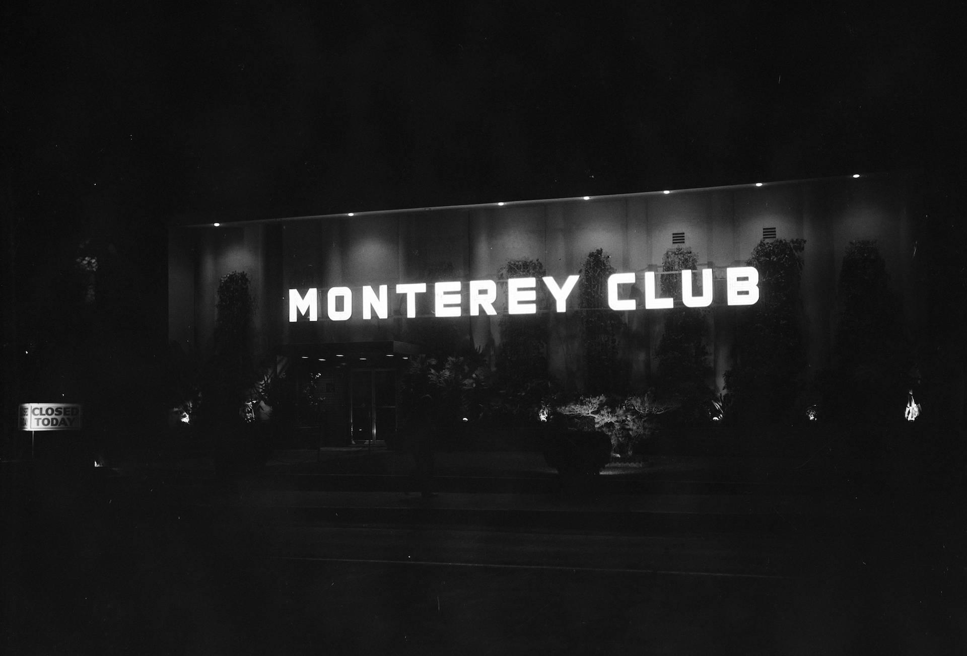 Monterey Club, 1960