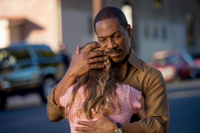 """Eddie Murphy and Britt Robertson in """"Mr. Church"""""""