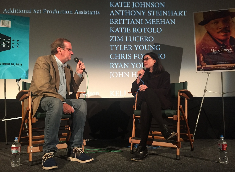 """Mr. Church"" screenwriter Susan McMartin with Pete Hammond"