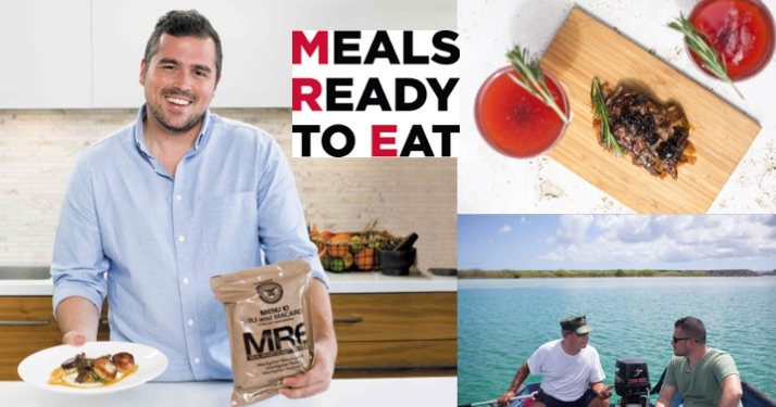 press image from meals ready to eat