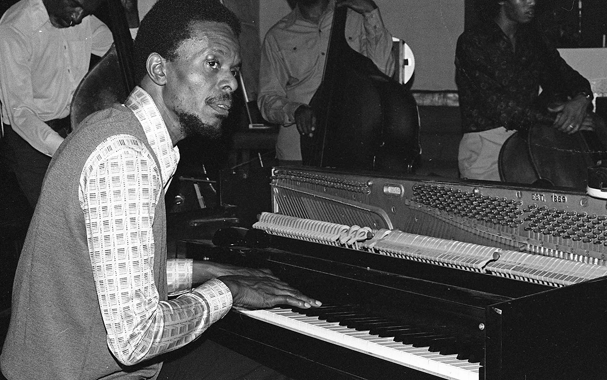 A Horace Tapscott publicity shot from the 1970s. | Courtesy of of Steven Isoardi