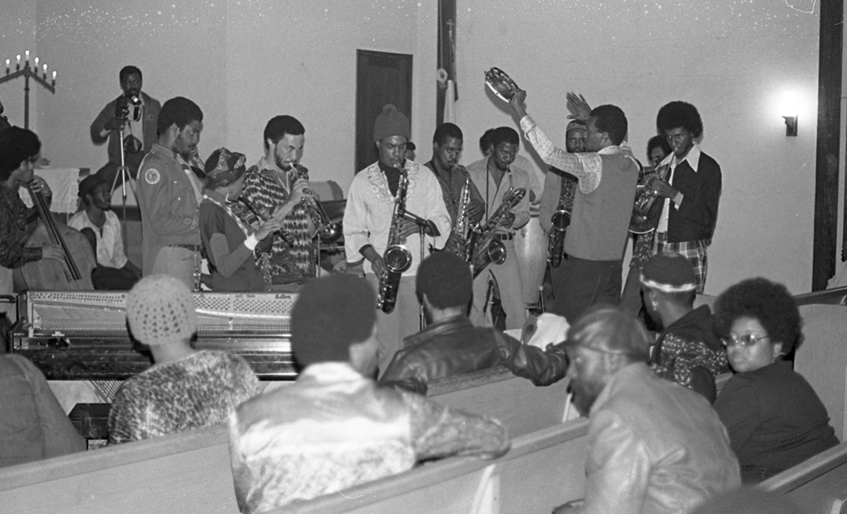 The Ark playing at The Immanuel United Church of Christ on January 30, 1977, where they played on the last Sunday of every month for around 8 years. | Courtesy of Mark Weber