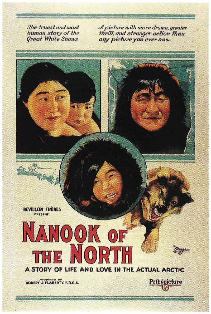 """""""Nanook of the North"""" movie poster"""