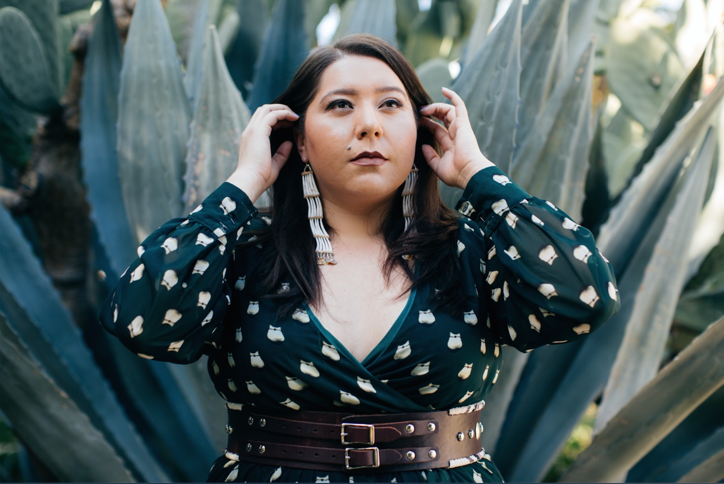 Native American fashion designer Bethany Yellowtail